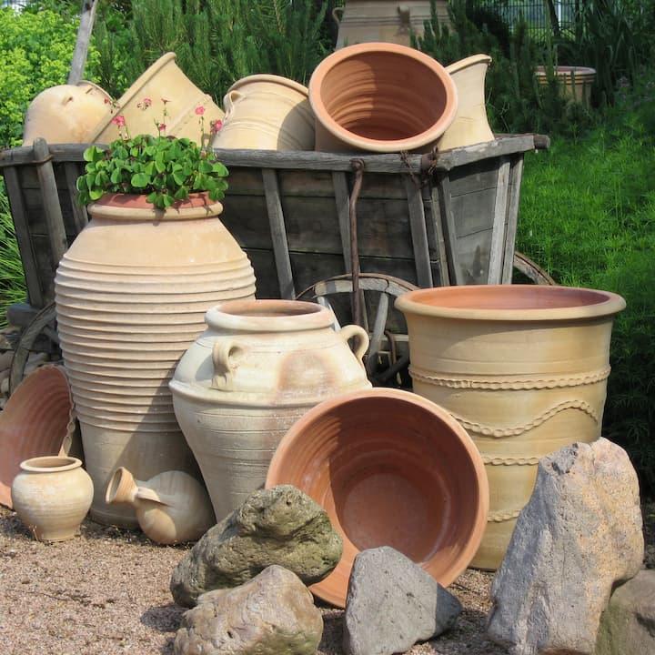 Landgarten Ohrdruf, Produkt, Amphoren aus Griechenland, Dekoartikel