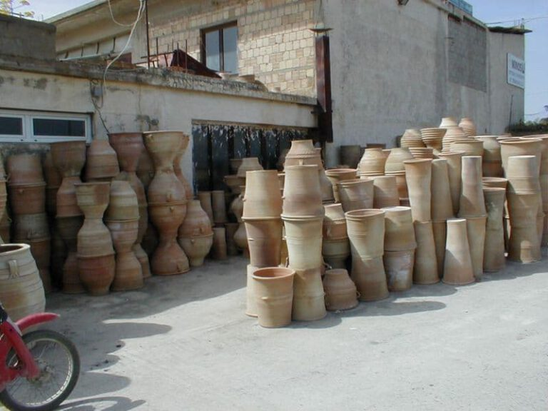 Landgarten Ohrdruf, Produkt, Amphoren aus Griechenland, Herstellung