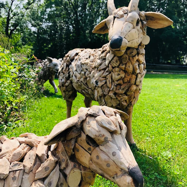 Landgarten Ohrdruf, Produkt, Driftwood Holzskulpturen, Dekoartikel